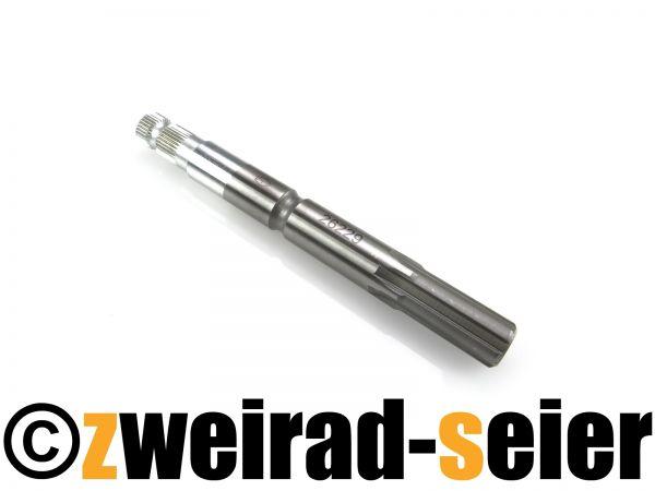 Kickstarterwelle - kurze Form - Grobverzahnung - KR50, SR4-1