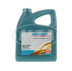 ADDINOL MV1066, 10W60 Motorsportöl / Rennöl 4-Takt, vollsynthetisch, 4-Liter