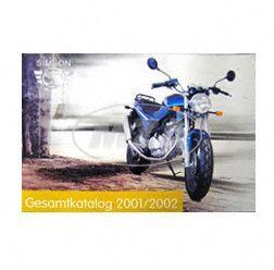 Alter Fahrzeugkatalog SIMSON - Farbdruck von SIMSON-Motorrad GmbH 2001/2002