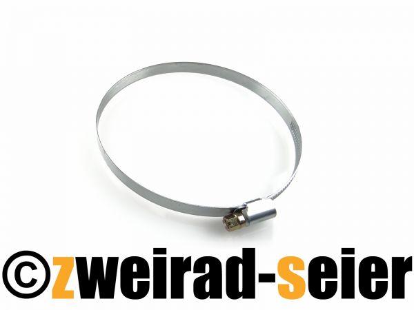 Schlauchschelle, Klemmschelle (Schneckengewindeschelle - Gemi) - Ø100-120mm, 9mm