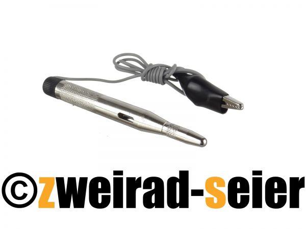 Prüflampe 6-24V, Metallgehäuse, Spannungsprüfer