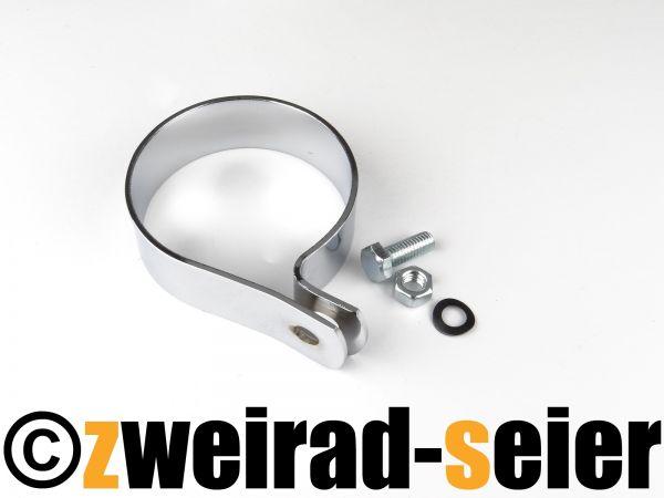 Befestigungsschelle - SET Auspufftopf Simson SR1, SR2, SR2E, Schwalbe KR50
