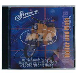 CD, SIMSON Roller und Mofa ORIGINALDOKUMENTE