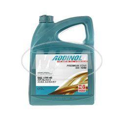 ADDINOL PKW PREMIUM STAR MX 1048, Dieselmotorenöl SAE 10W-40, teilsynthetisch, 5 L