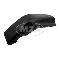 Beinschutz rechts - schwarz pulverbeschichtet - SR50, SR80 - verzinktes Blech