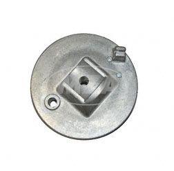 Bremsschild vorn - natur - mit Bolzen - SRA50, MSA50